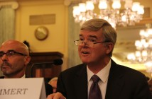 NCAA President Mark Emmert testifies before the Senate Commerce, Science and Transportation Committee