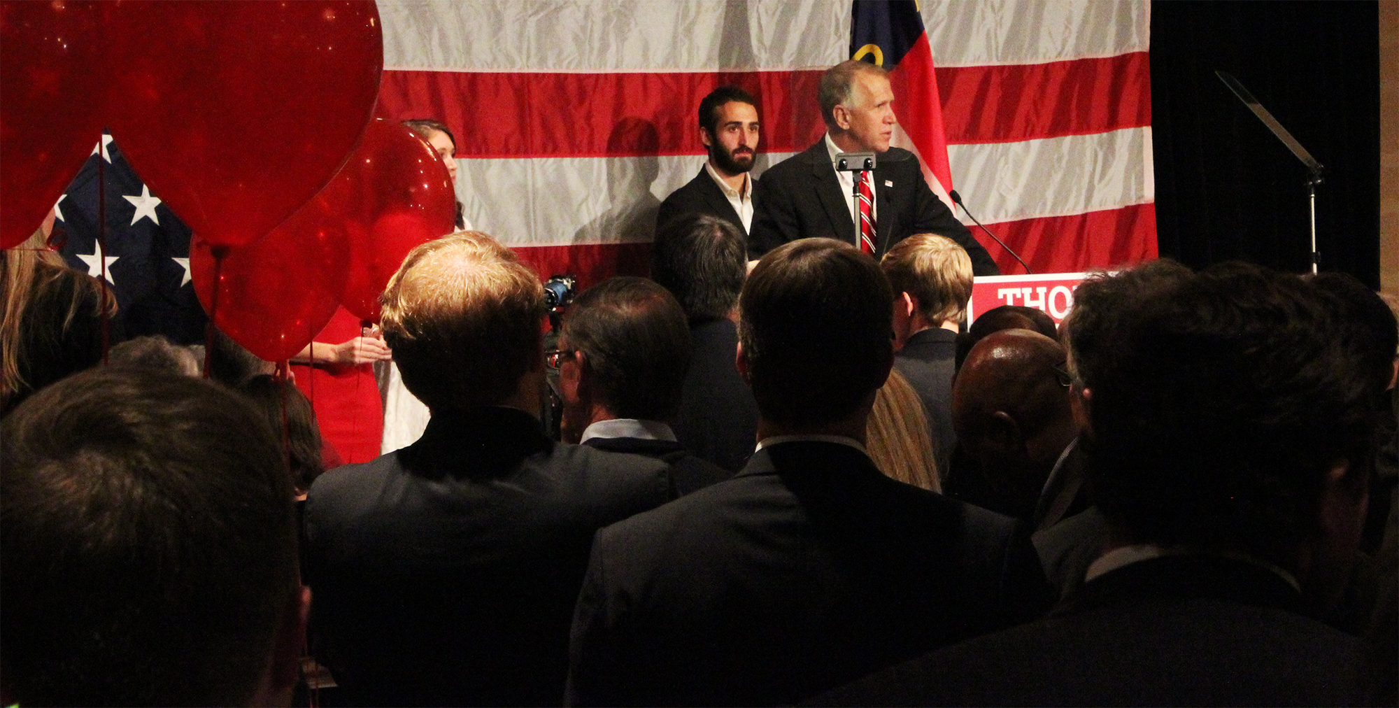 Republicans celebrate narrow victory in North Carolina