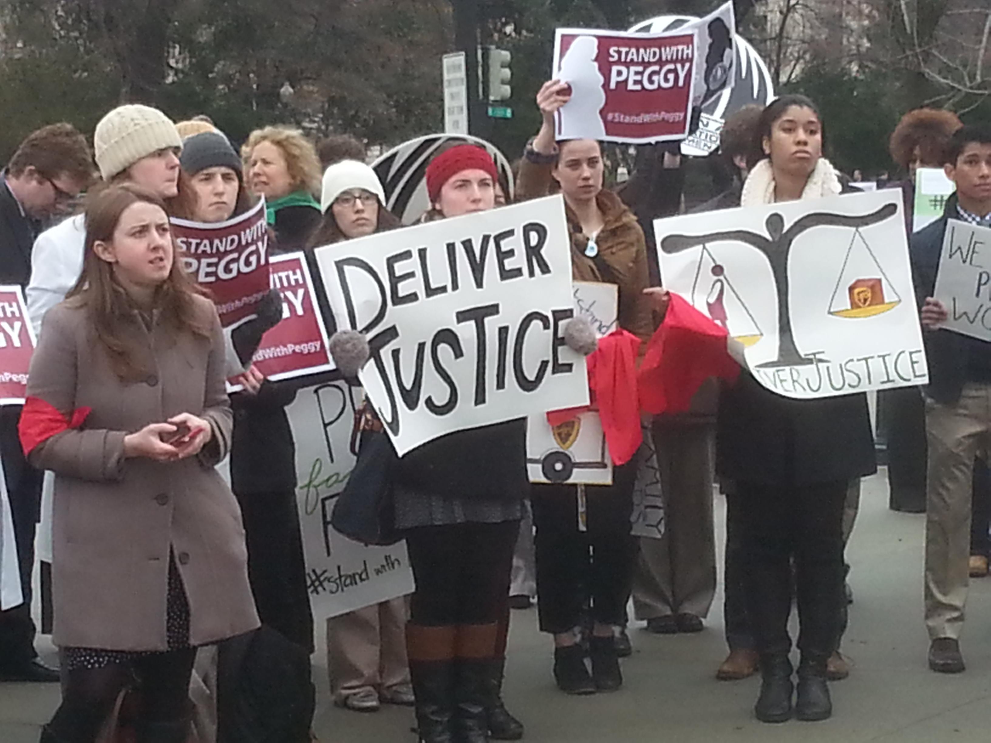Pregnancy discrimination case goes before Supreme Court