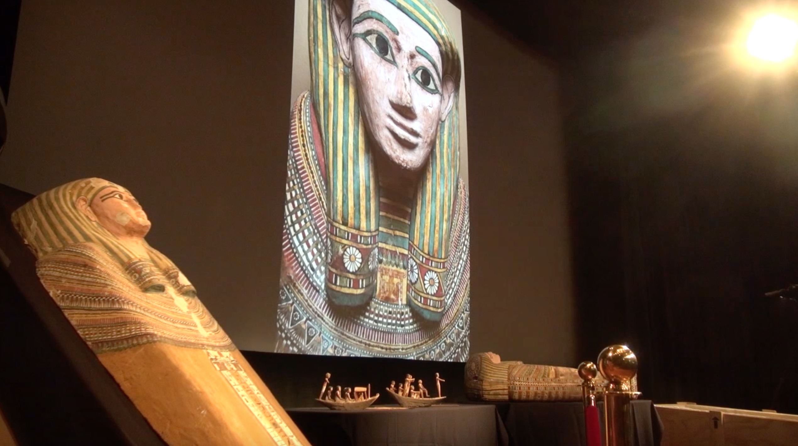 Sarcophagus found in Brooklyn garage is heading home to Egypt