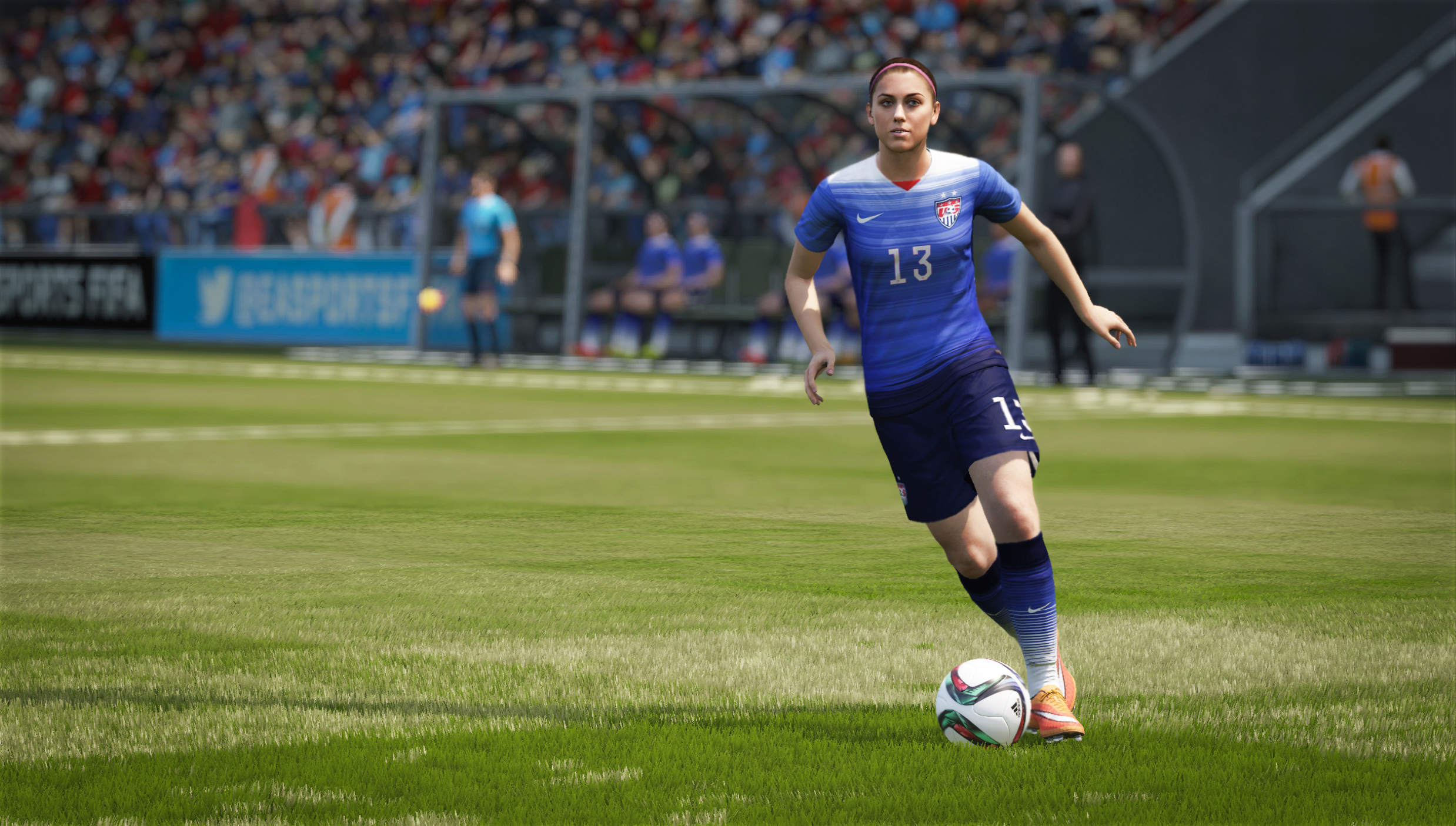 How women finally made it into the FIFA video game