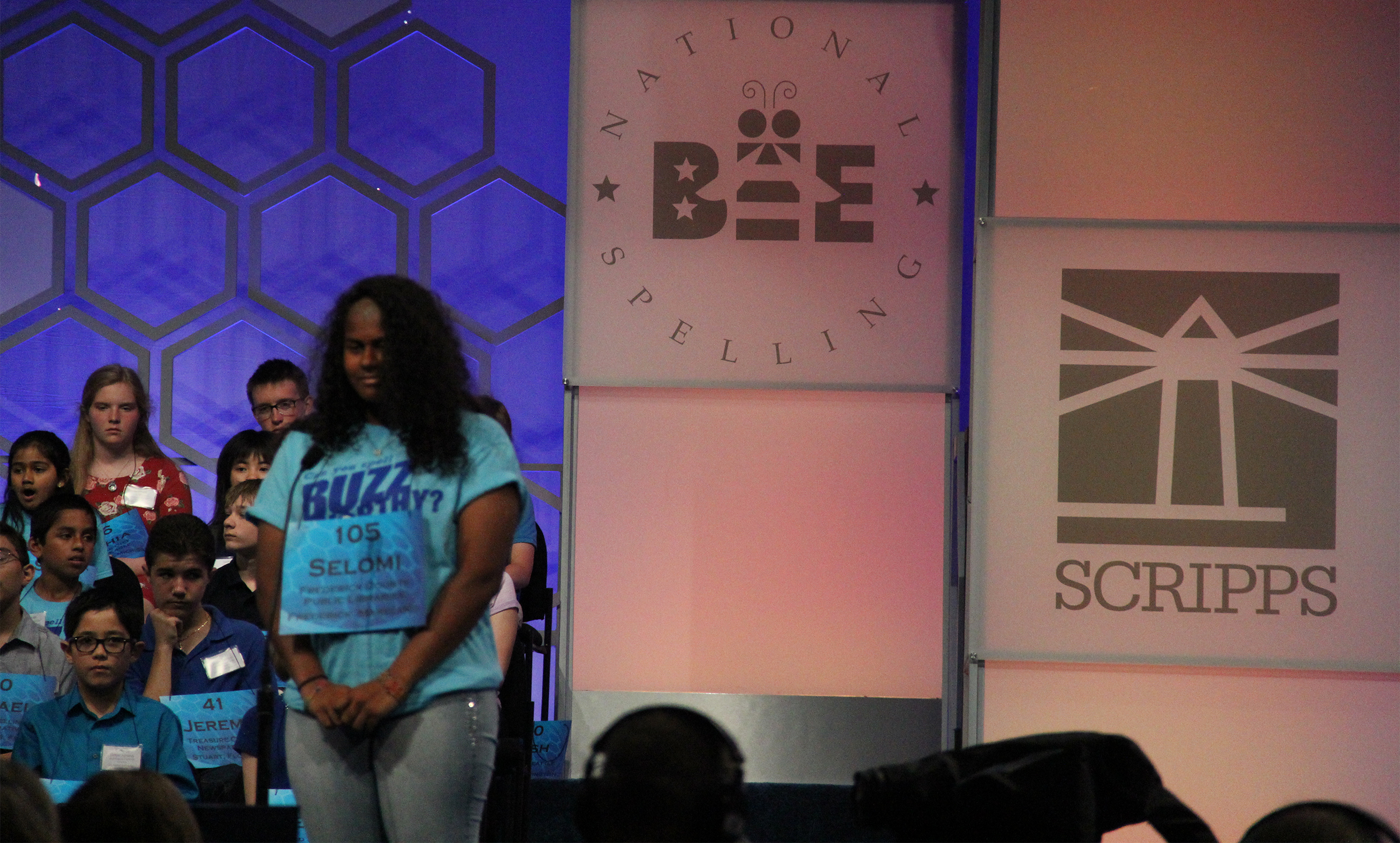VIDEO: Urbana Middle School student competes in Scripps National Spelling Bee