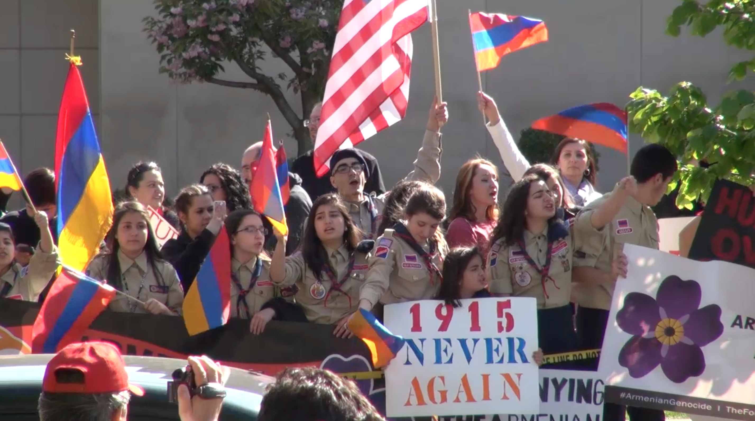 Some Armenians say move to label 1915 killings as genocide gaining momentum