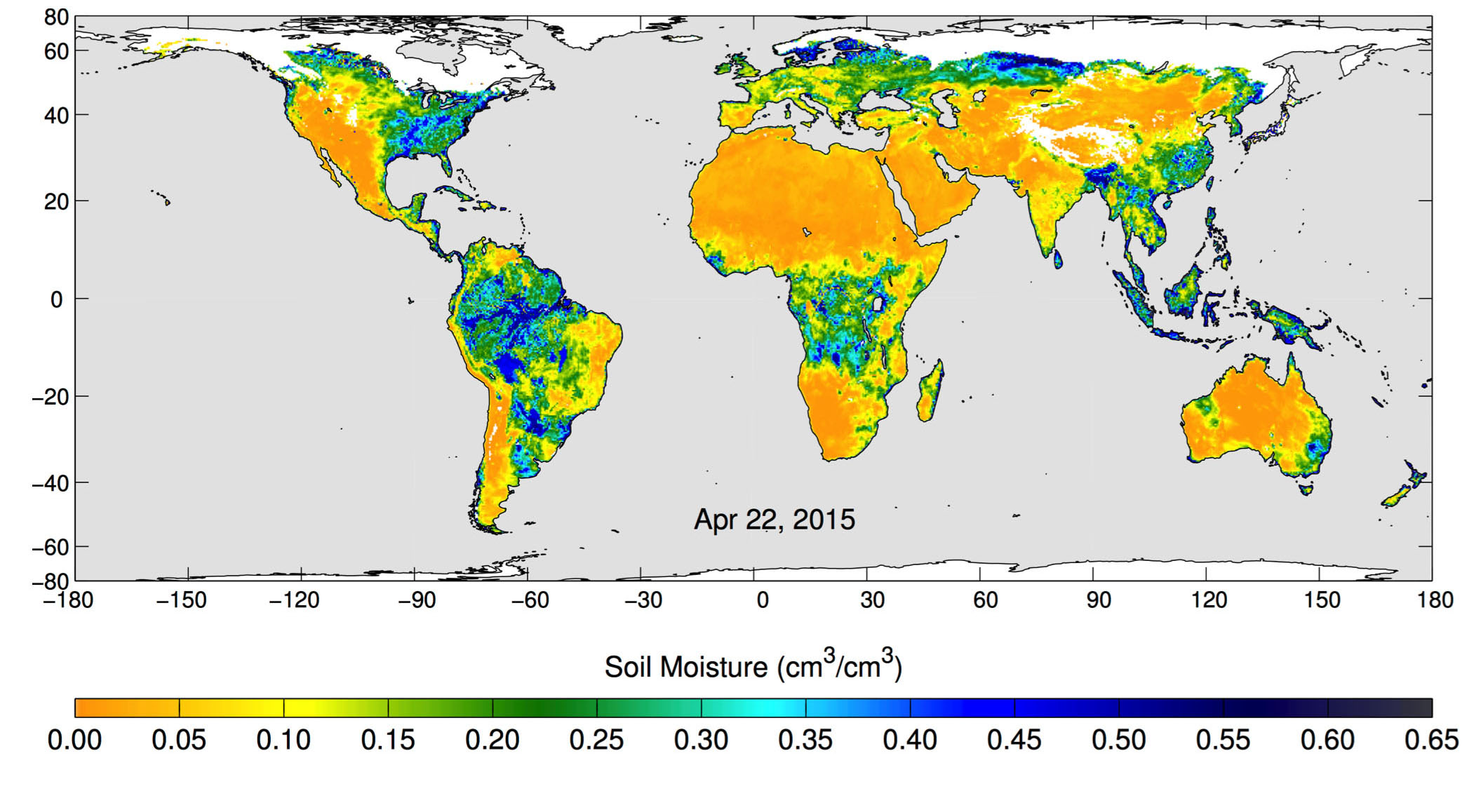 NASA's soil-moisture satellite data helps fight California droughts