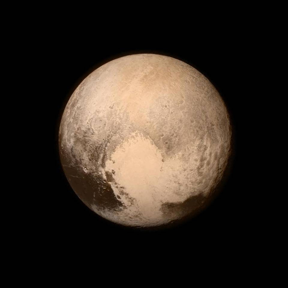 NASA spacecraft captures 'fantastic' image of Pluto