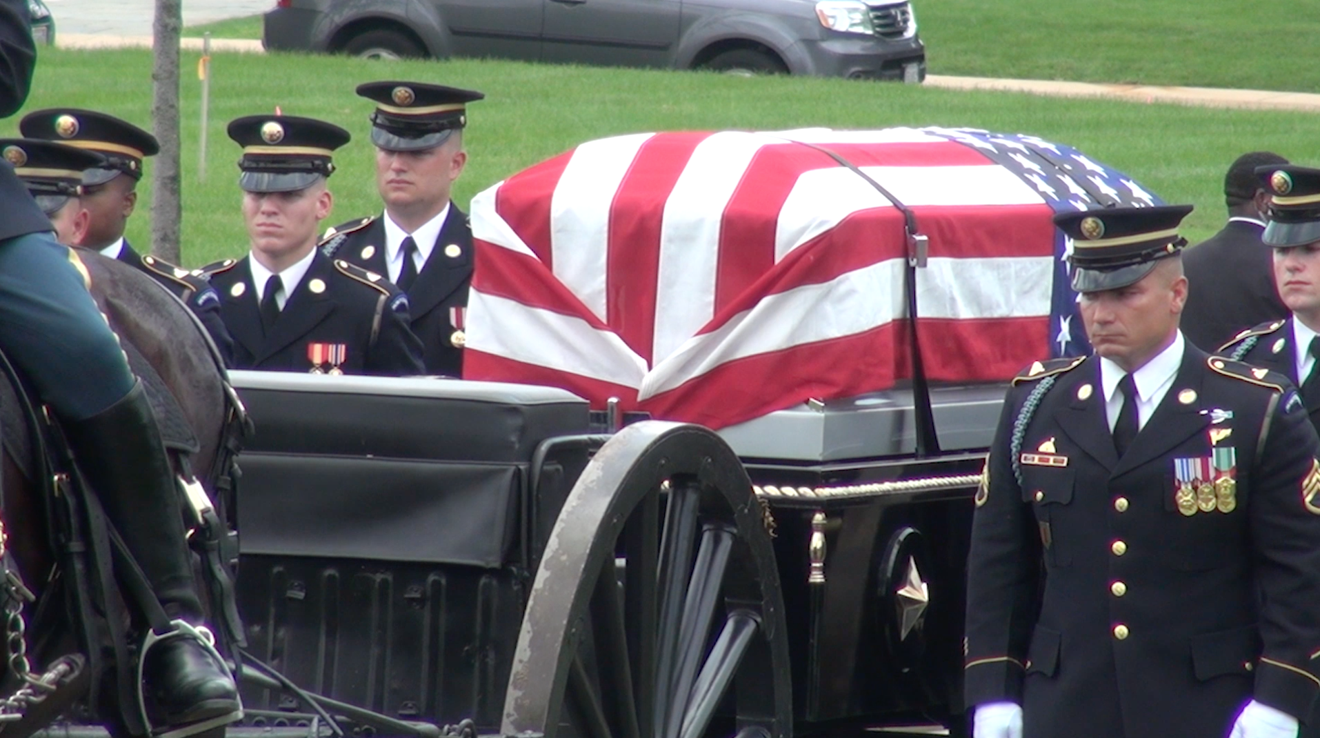 Missing Korean War soldier laid to rest in Arlington after 64 years