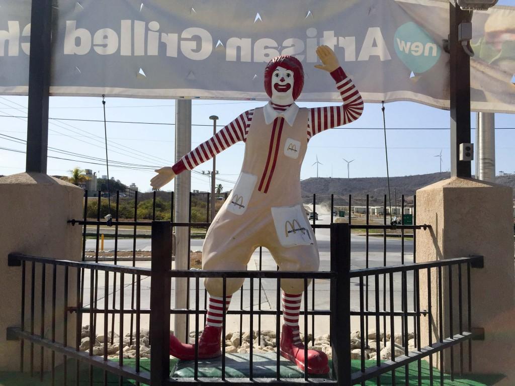 The McDonalds on the Naval Base in Guantanamo Bay, Cuba. (Ezra Kaplan/MNS)