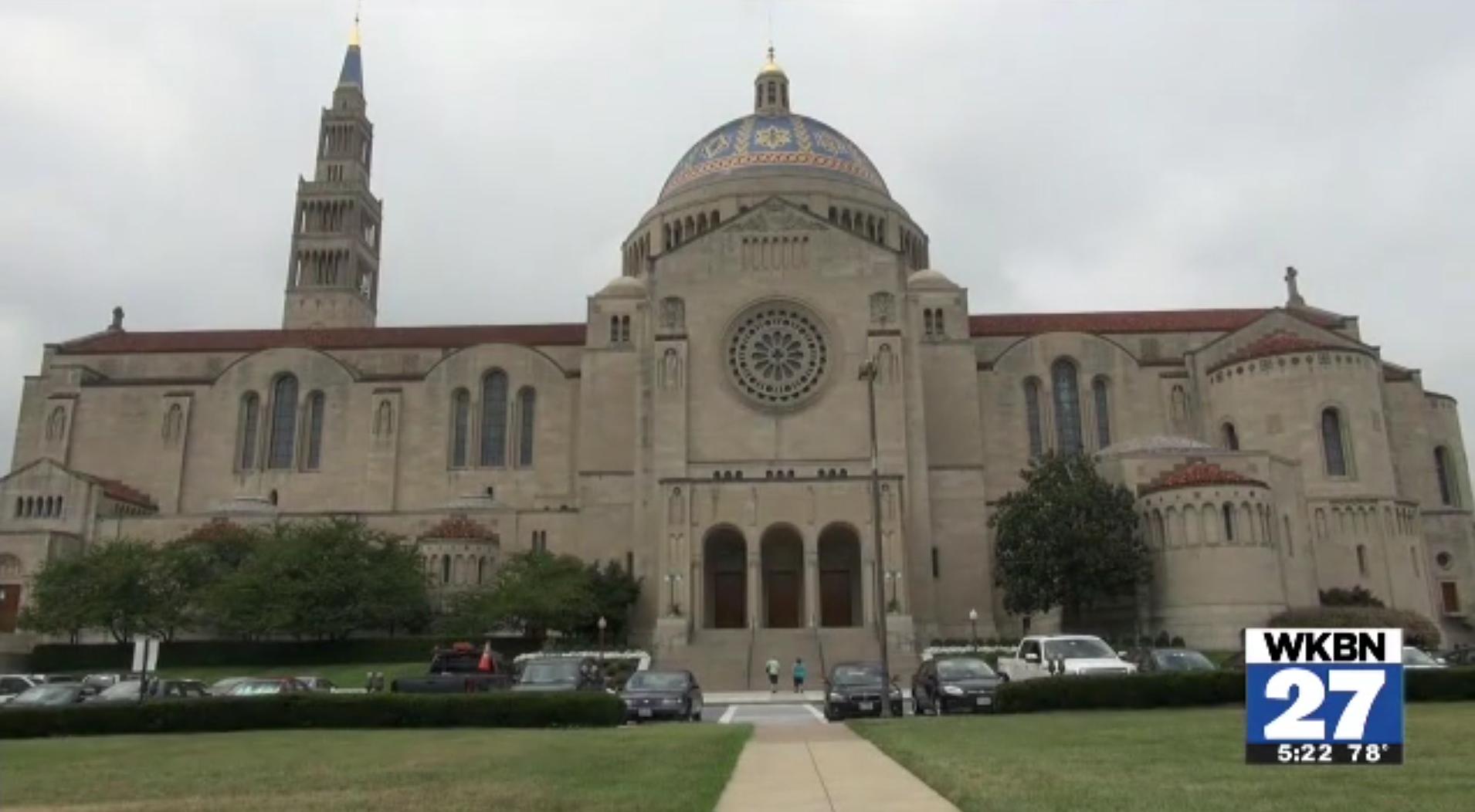 Recent Catholic University graduates design papal furniture