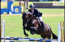 Junior rider Morgan Dickerson jumping with horse Crescendo (photo courtesy: Morgan Dickerson)