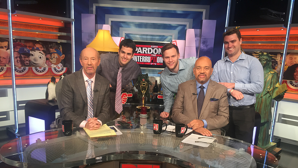 ESPN's 'Pardon the Interruption' impresses Medill students