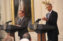Hollande and Obama  Sean Froelich/Medill News Service