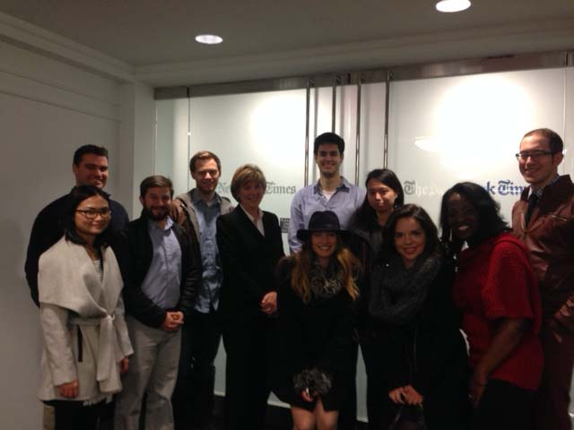 New York Times hosts Medill Washington students