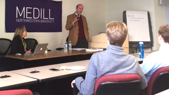 Medill alum Roy J. Harris shares behind-the-scenes stories of Pulitzer Prize winning journalism