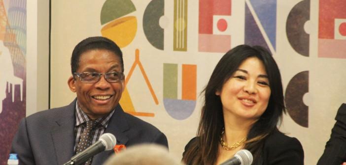 Jazz legend Herbie Hancock wants to revolutionize American classrooms