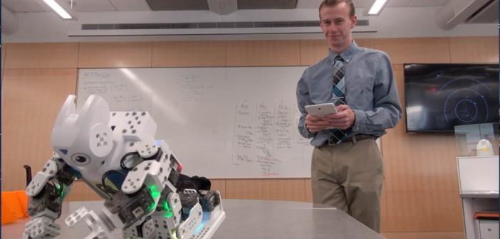 Robot helps social skills for autistic children