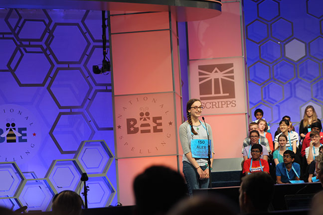 Albany speller competes in national bee, falls short of finals