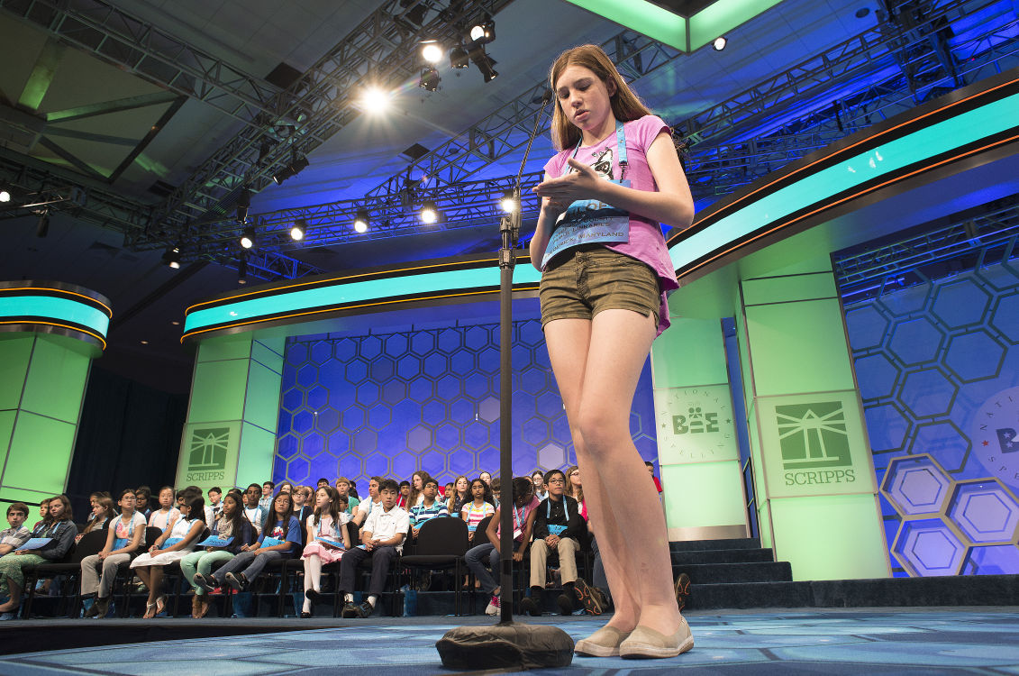 Frederick girl narrowly misses National Spelling Bee final