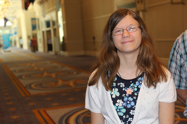 Kentucky speller's sense of humor can't save her in national bee