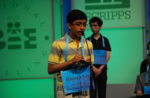 Srinath Mahankali and Cerulean Ozarow competed in the 2016 Scripps National Spelling Bee. (Siri Bulusu/MNS)