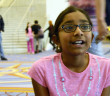 Ananya Vinay, 11, of Fresno, California, made it to the third round of the 2016 Scripps National Spelling Bee. She's determined to return next year. (Steve Musal/Medill)