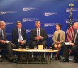 The Secretary of Agriculture addressed climate-smart agriculture in a panel discussion at the Center for American Progress (Marisa Endicott/MNS).