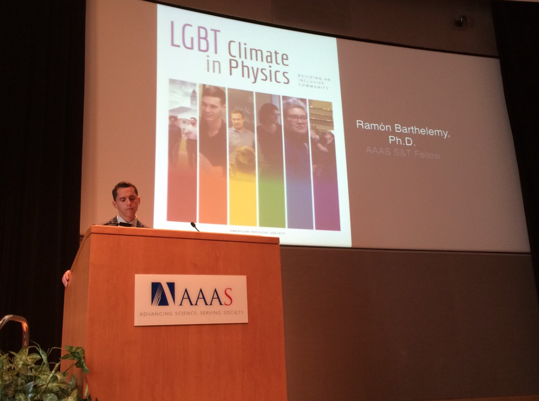 Transphobia in the sciences: LGBTQ discrimination continues in the graduate physics