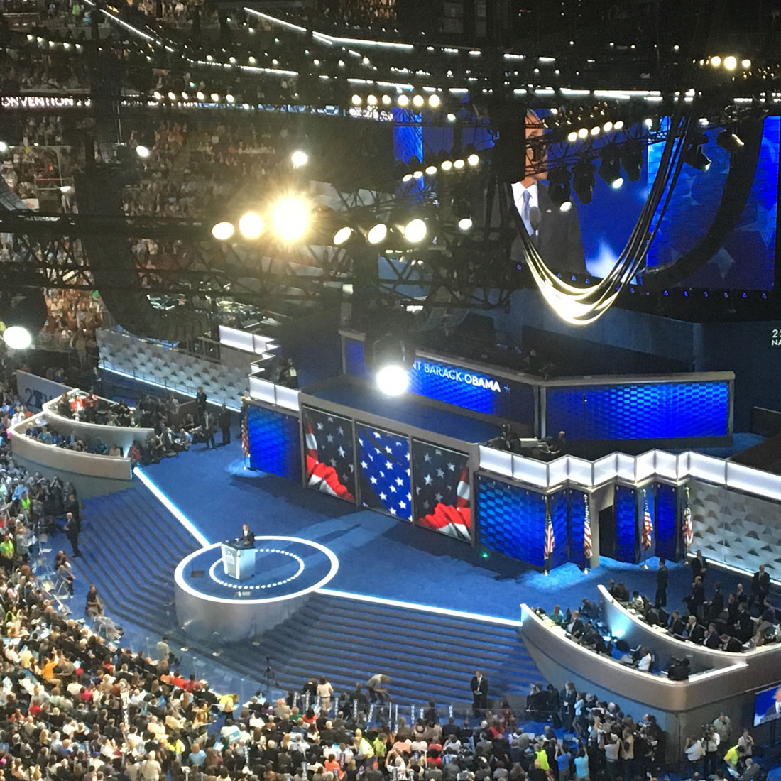 Democratic National Convention: Commenting the President Barack Obama's speech