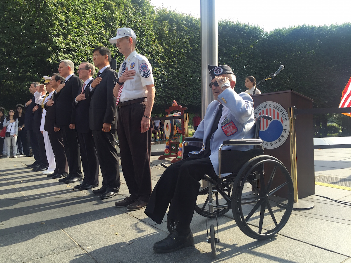 "Veterans commemorate 66th anniversary of ""forgotten war"""