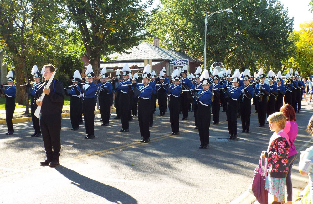 Montana high school band marches into history in nation's capitol