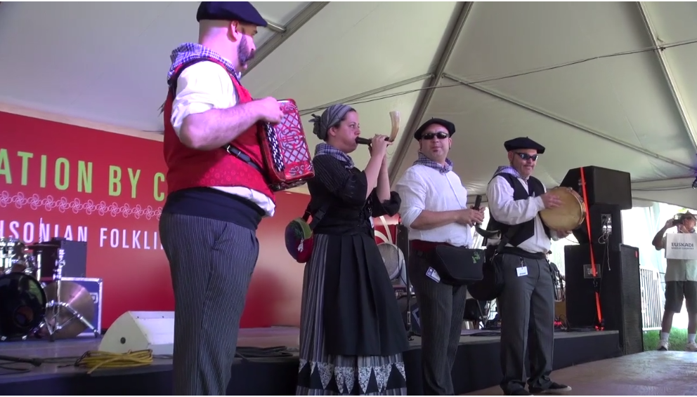 Basque culture and innovation showcased at Smithsonian Folklife Festival