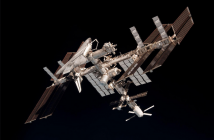 International Space Station courtesy of the European Space Agency
