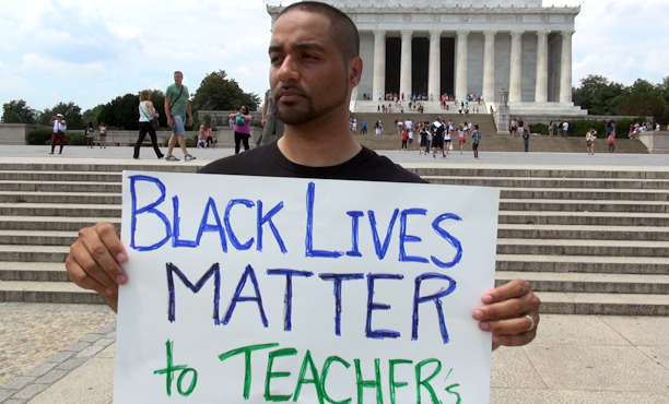 Nationally recognized activist condemns murders of black men