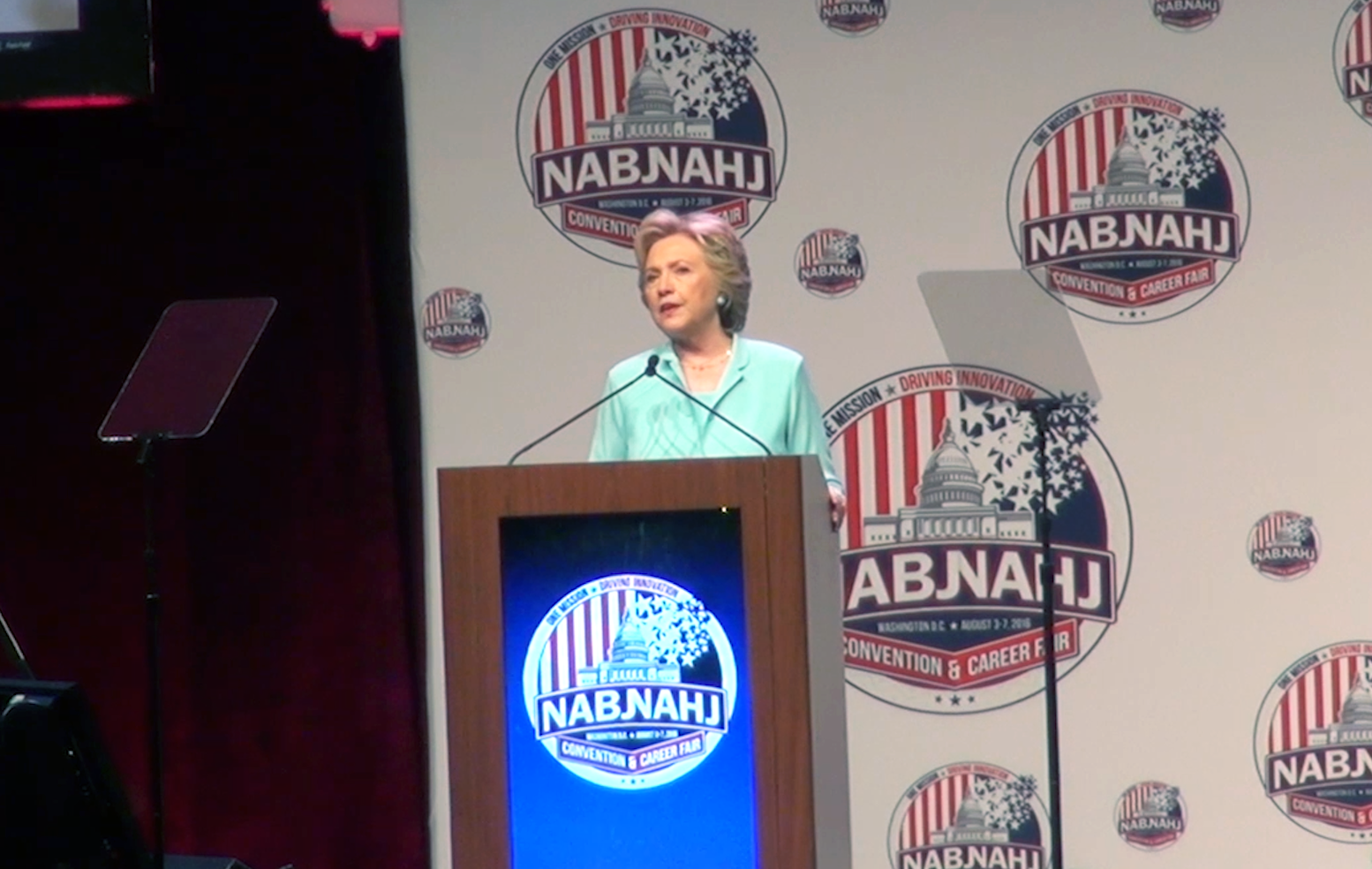 "Journalists react to Hillary Clinton's ""press conference"" at NABJ and NAHJ convention"