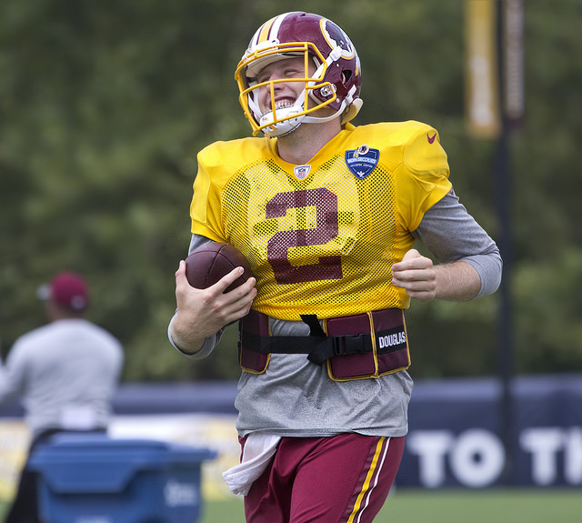 Sudfeld eager to learn as Washington's third-string quarterback