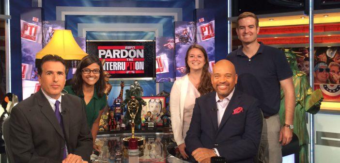 Pardon The Interruption: Medill visits Mike Wilbon