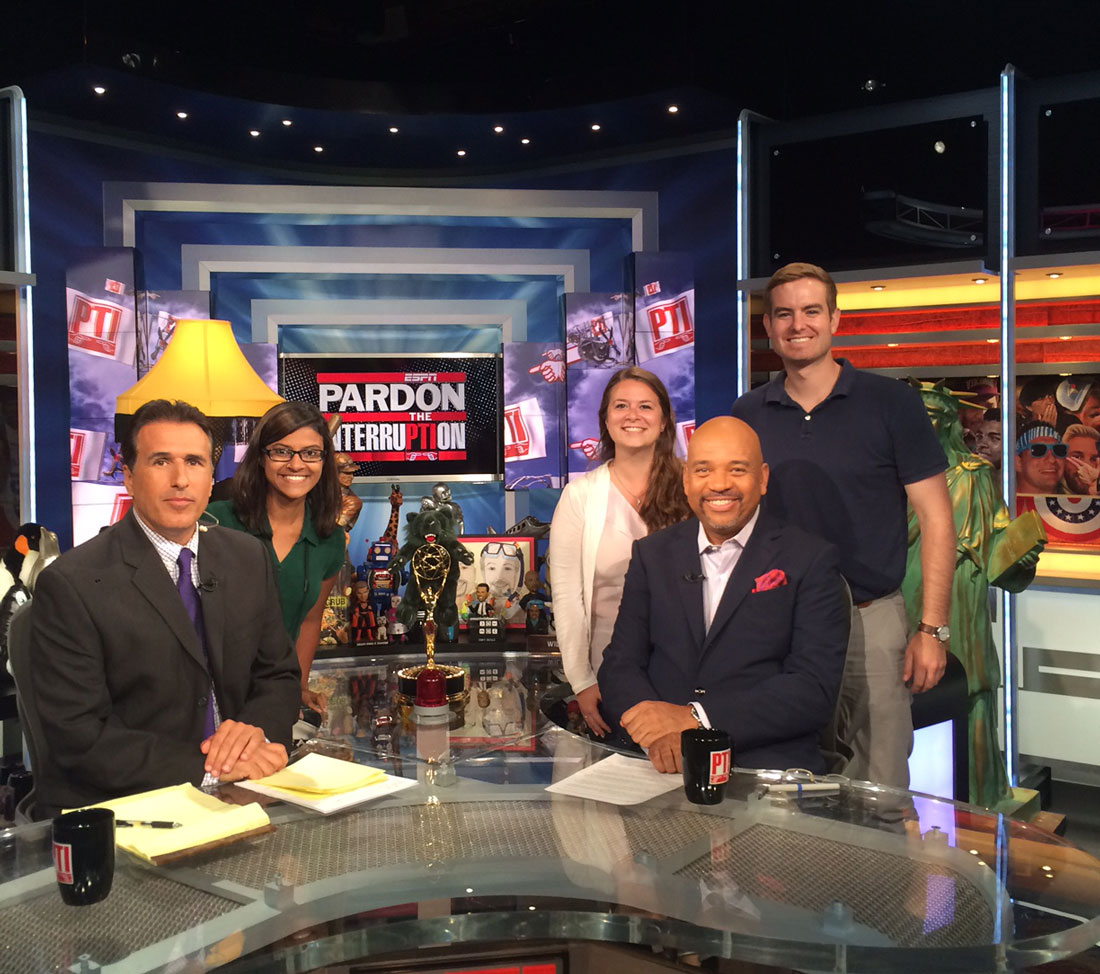 Pardon The Interruption: Medill visits Mike Wilbon