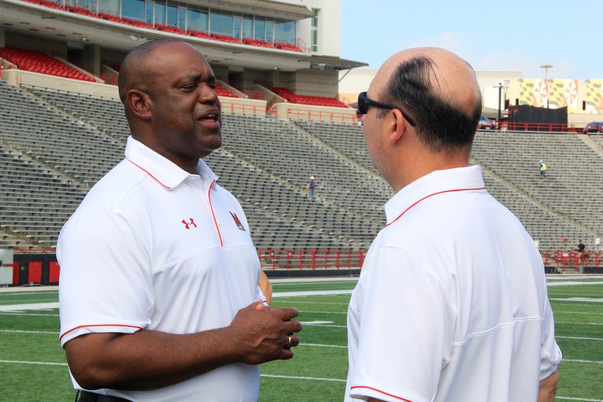 Maryland football position coaches embrace transition from past head coach jobs