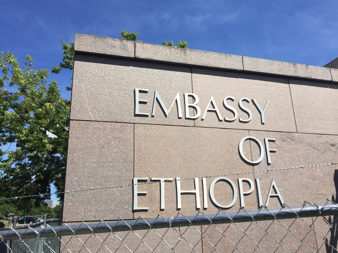 Image result for ethiopian embassy in dc