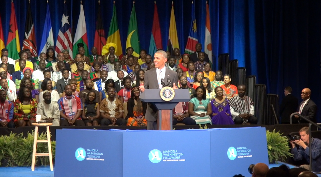 President Obama at YALI summit