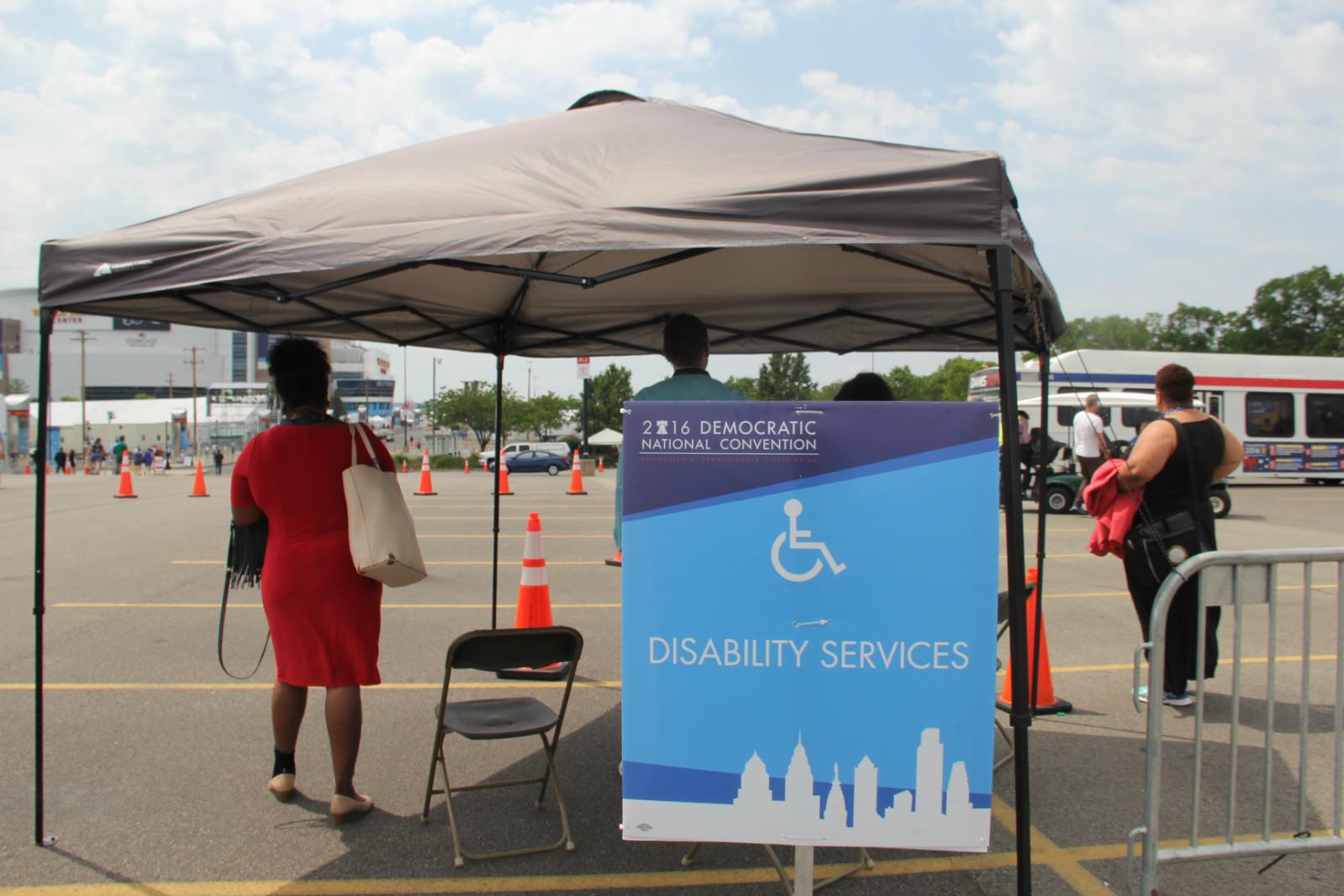 DNC's disablities assistance upset some delegates