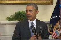 President Obama announces the plan to close the prison facility at Guantanamo Bay in February (The White House)