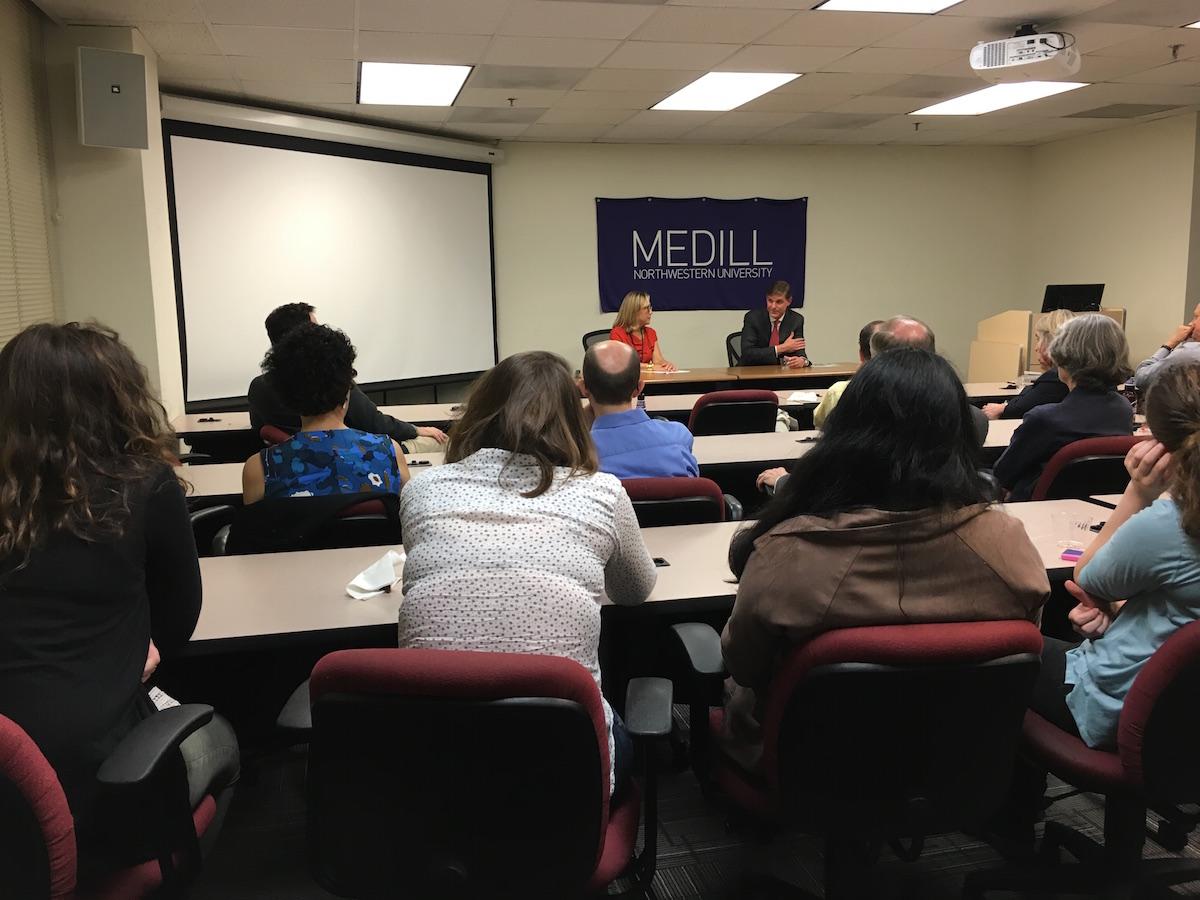 From Medill  News Service to DoD: Pentagon Press Secretary Peter Cook's journalism journey