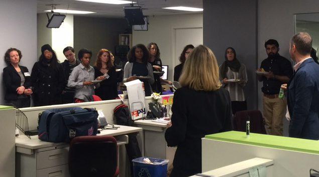 Medill students, mentors view student's Cuba documentary