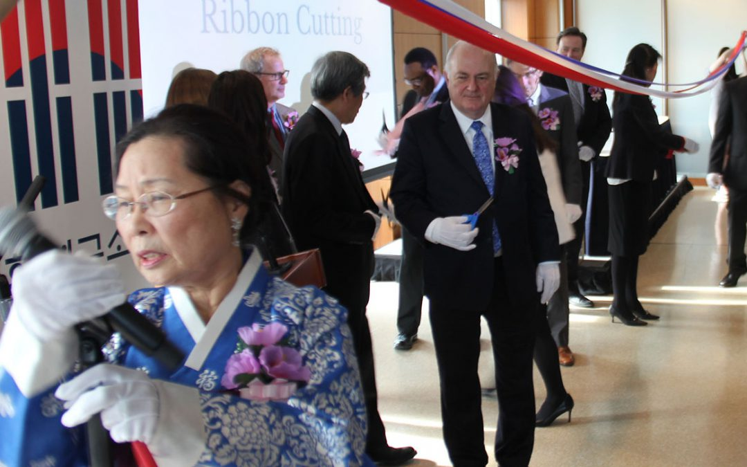 South Korea funds U.S. center to promote Korean culture