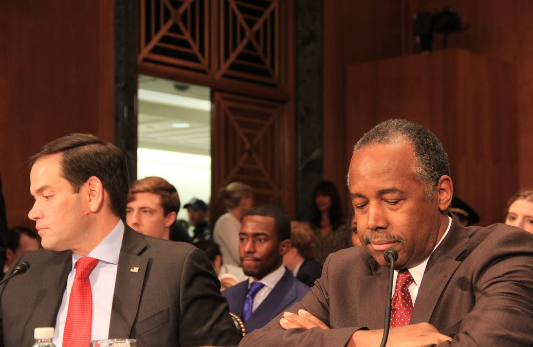 Carson Questioned on Segregation, LGBTQ Rights at  Confirmation Hearing