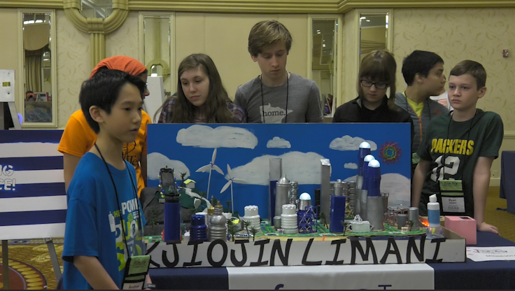 Minnesota middle schoolers make nationals with futuristic city