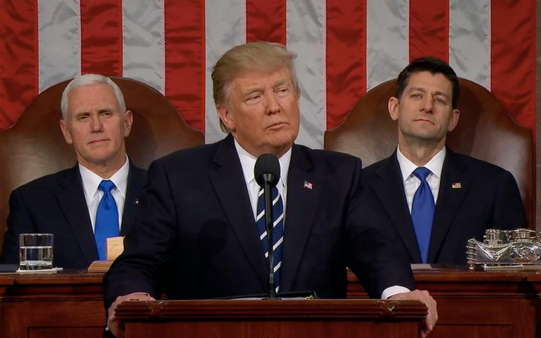 Environment largely ignored in Trump speech to Congress