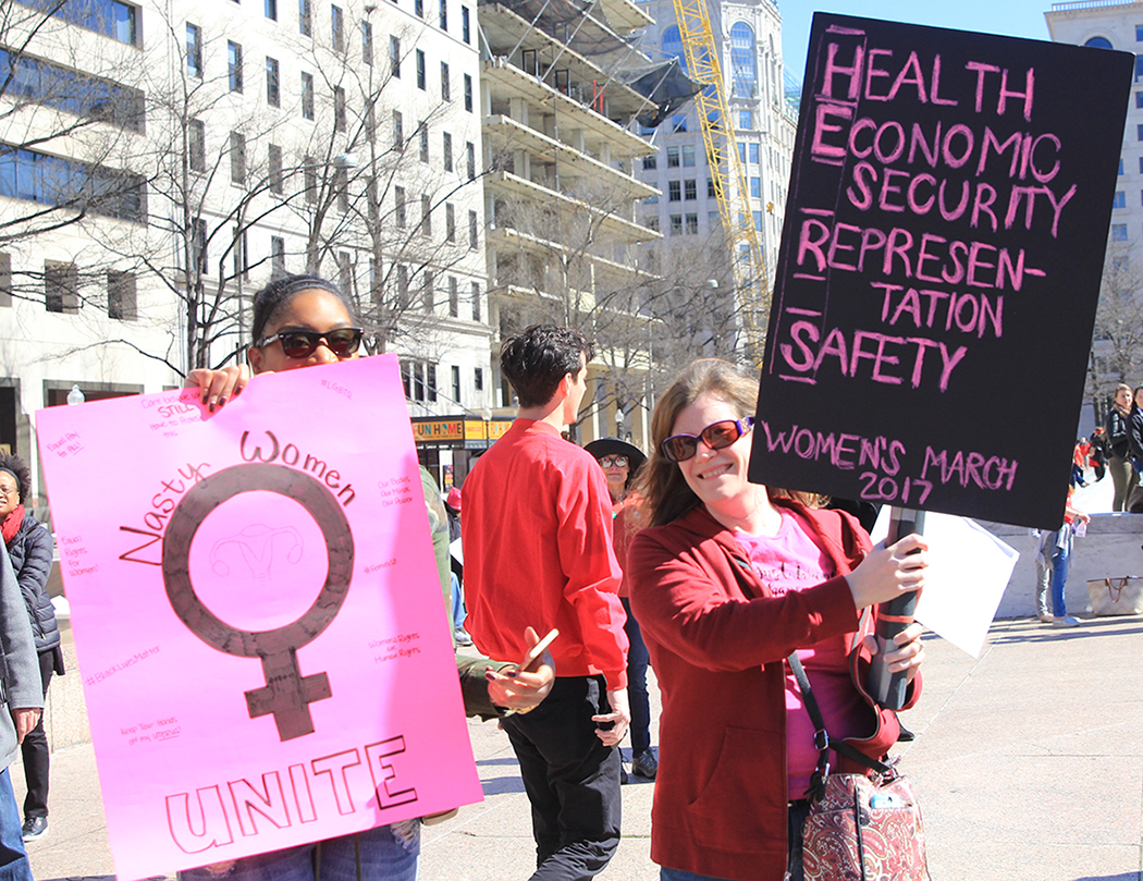 Women's Protest Signs