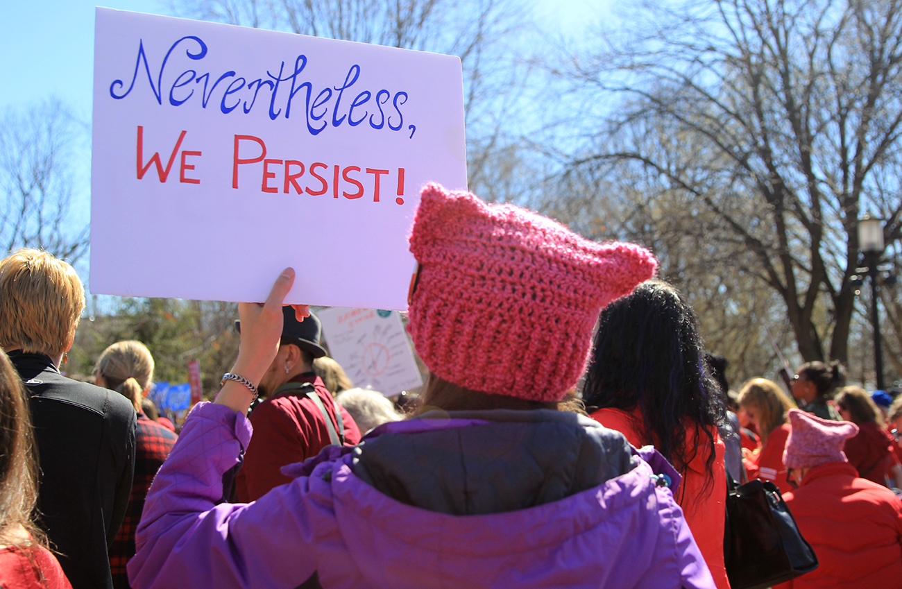 She Persisted Sign