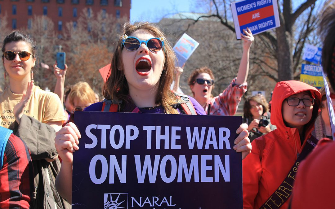 On International Women's Day, Women's Rally for Reproductive Rights